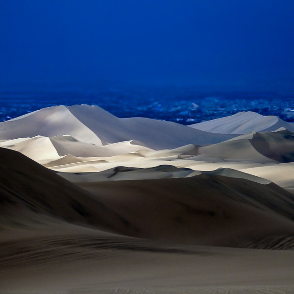 Travel Photographer Huacachina, Snad dunes
