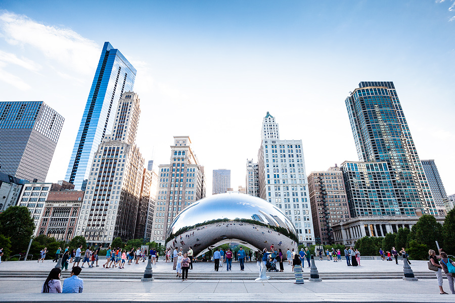 Cloud gate, Chicago travel photography