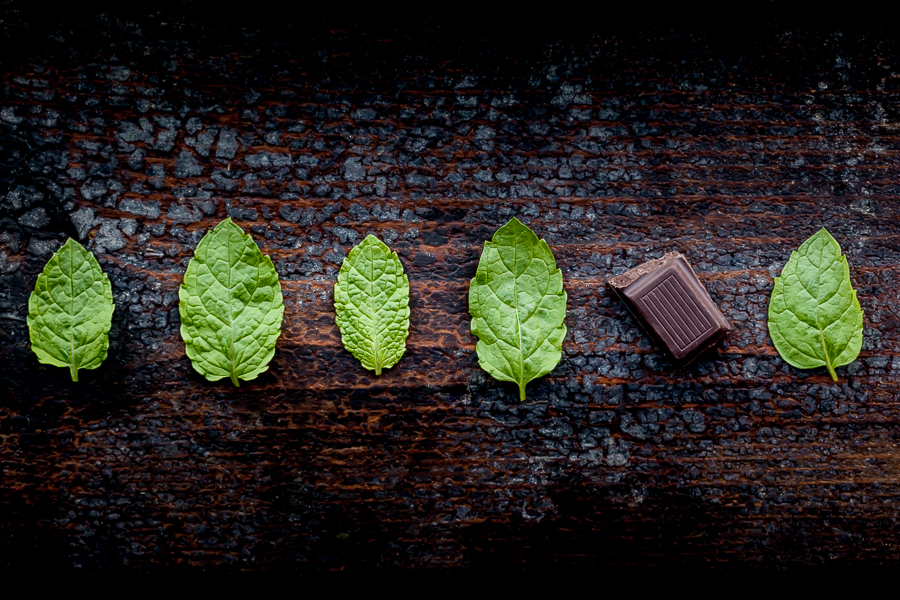 Chocolate, Mint, Food Photography, Commercial food photography