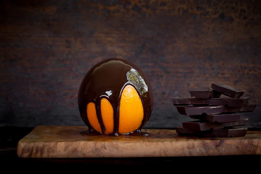Chocolate and Love, Commercial food photography