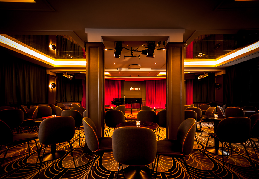 The Standard jazz club, interior photography