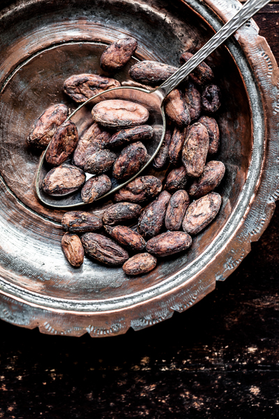 Chocolate Beans, product photography