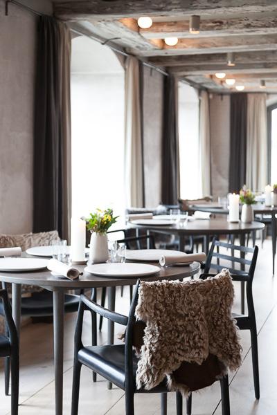 Noma Restaurant, copenhagen, interior