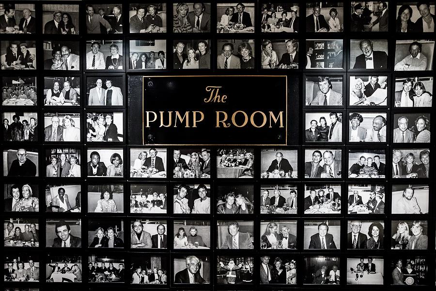 The Pump Room Chicago Menu