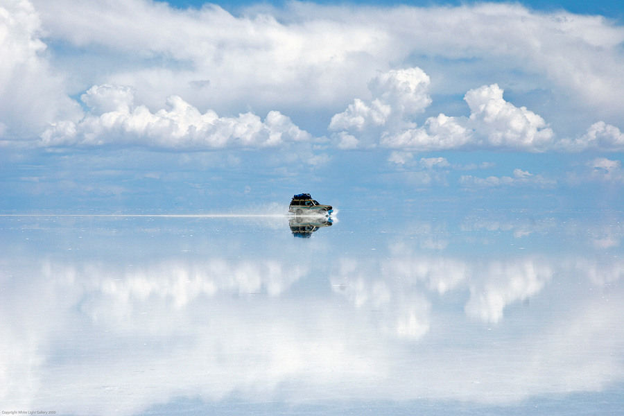 reflection, salt flats, bolivia