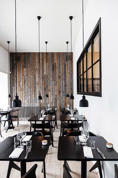 Restaurant Radio, nordic food, scandinavian design