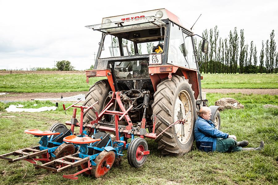 Grandtoftegård, traktor