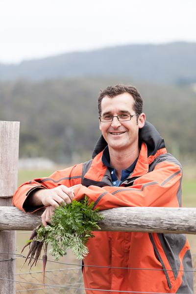 Farmer, tasmania, portrait