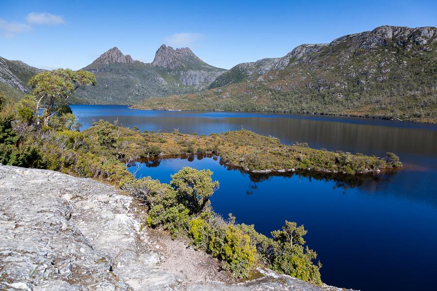 Tasmania landscape, lake