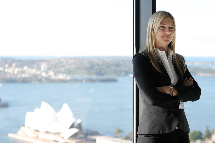 Corporate portrait, sydney opera house