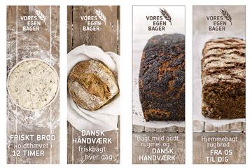Advertising food photographer, bread, bakery, supermarket