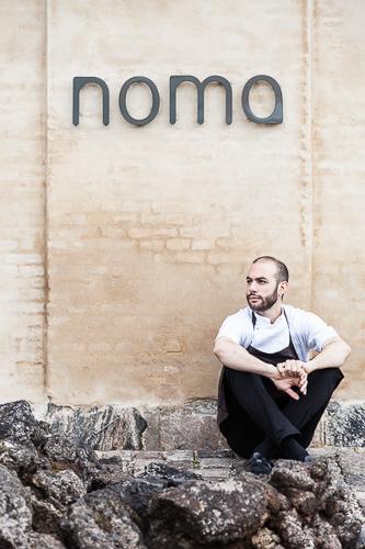 Noma, head chef, Daniel Giusti