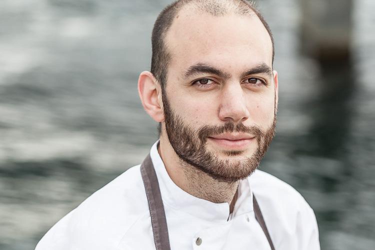 Daniel Giusti portrait photography, Noma head chef, copenhagen