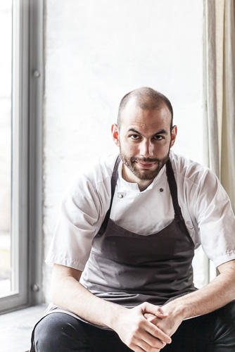 portrait photography, Noma head chef Daniel Giusti