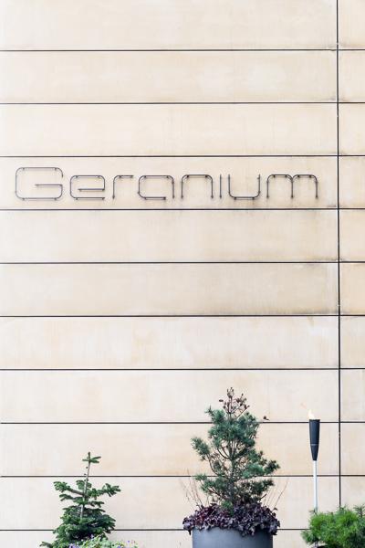Restaurant Geranium, Copenhagen