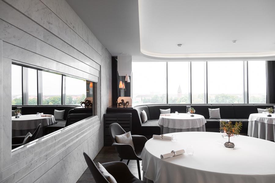 Interior Geranium Restaurant, Copenhagen Denmark