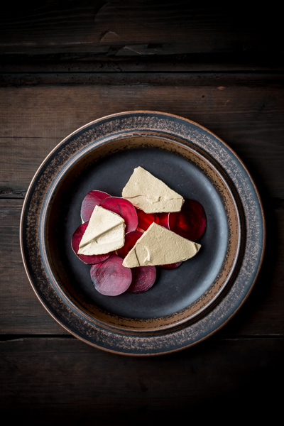 Food photography, nordic food