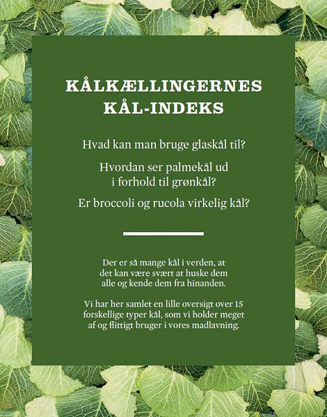 Kålkællingerne, Madfotograf, Kål, Kogebog