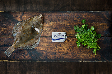 Food photography for Lurpak, Food photography