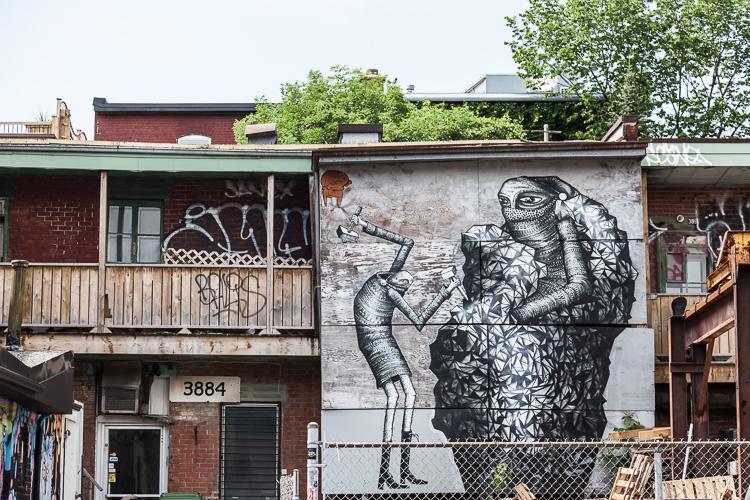 Montreal mural