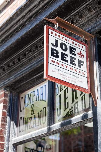 Montreal, Joe Beef Restaurant