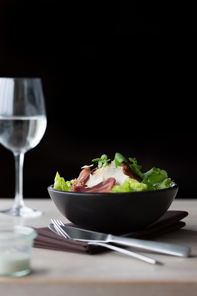Professional gourmet food photography