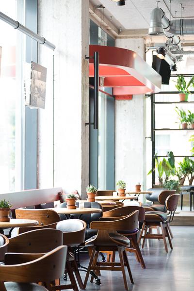 Interiør fotograf restaurant