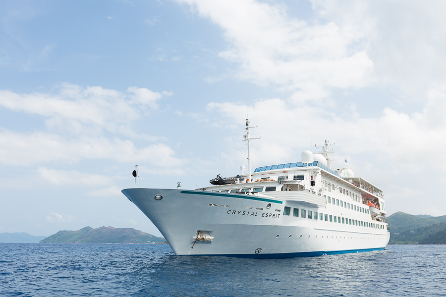 Cruise ship photographer, Seychelles