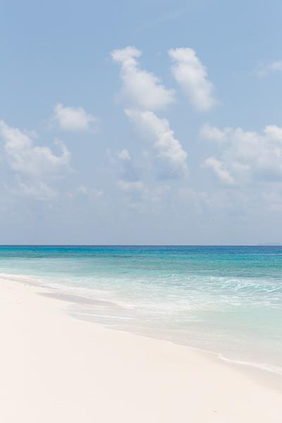 Seychelles, sand beach